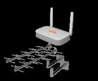 Комплект антенн + роутер LTE Skylink H1