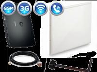 Комплект 3G роутер Huawei B683 + панельная антенна Kroks КР20