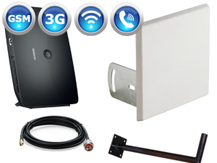 Комплект 3G роутер Huawei B683 + панельная антенна Kroks КР18