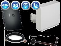 Комплект 3G роутер Huawei B683 + широкополосная антенна Kroks КР15