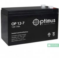 Аккумуляторная батарея Optimus 7Ач 12В