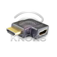 Переходник HDMI(male) - HDMI(female) угловой