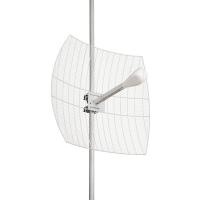 KNA21-1700/2700 - Направленная параболическая 3G/WiFi/4G MIMO антенна KROKS (21 dBi)