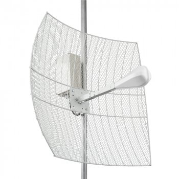 KNA24-1700/2700 BOX - Параболическая MIMO антенна с гермобоксом KROKS (24 dBi)
