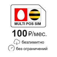 Купить в интернет-магазине MyAntenna.ru MULTI POS SIM безлимитный интернет за 100 руб./мес. Сим-карта для онлайн касс и POS терминалов