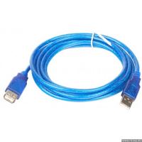 Переходник USB 2.0 (male) на USB 2.0 (female), с передачей данных, 180 см