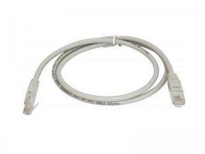 Патч-корд RJ45 0,5 м, PC-LPM-UTP-RJ45-RJ45-C5e-0.5M-GY
