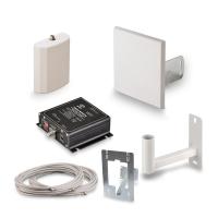 Купить в Москве комплект усиления KROKS KRD-2100 сигнала сотовой связи 3G UMTS (60 dBi) по лучшей цене в интернет магазине MyAntenna.ru