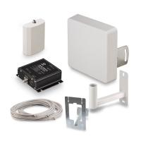 Купить в Москве комплект усиления KROKS KRD-900 Lite сигнала сотовой связи 2G GSM900 и 3G UMTS900 усилением 50 dBi в интернет-магазине MyAntenna.ru