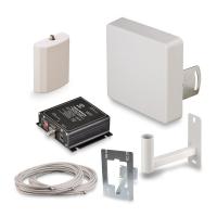 Купить в Москве комплект усиления KROKS KRD-900 сигнала сотовой связи 2G GSM900 и 3G UMTS900 усилением 650 dBi в интернет-магазине MyAntenna.ru