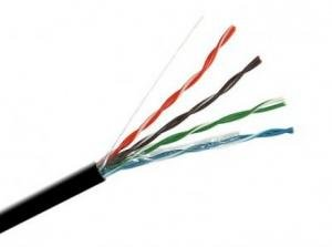 Кабель UTP 4PR 24AWG CAT5e OptimLAN Уличный Бухта